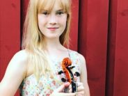 Meet 11-year-old Estella Elisheva – most gifted junior violinist and composer from Scandinavia
