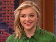 Chloe Grace Moretz's hair used to fall out